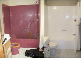 can i paint my bathtub nice re enameling a maroon