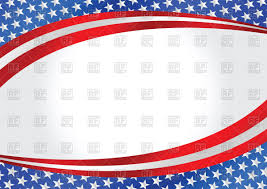 Flag Background Free Wavy Background With Usa Flag Stock Vector Image