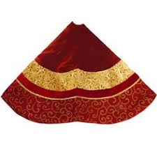 tree skirt red velvet tree skirt84