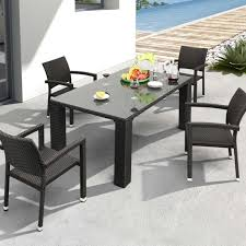 modern patio dining set  icamblog