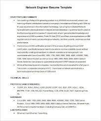 Network Engineer Resume Template  7+ Free Samples, Examples,psd