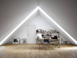 feng shui home office attic. Feng Shui Home Office Attic. Plain White Minimalist Attic Officeinteriordesignideas Ideas 20