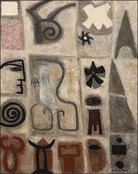 watching 1940s via the snite museum of art notre dame indiana i enjoy all of adolph gottlieb s