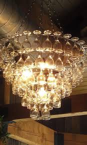best wine glass chandelier ideas only on glass model 9