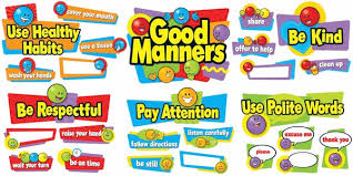 speech on good manners in english for students children
