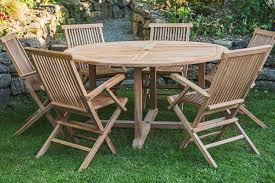 teak patio furniture set ottena