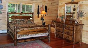 timeless bedroom furniture. log bedroom with rustic wood furniture authentic and timeless style n