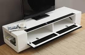 white tv stand modern. b-modern editor remix mini tv stand   white high-gloss tv modern w