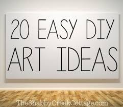 on easy cheap wall art ideas with 20 ways to make your own wall art