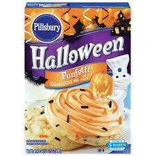 pillsbury halloween sugar cookies.  Pillsbury Pillsbury Funfetti Halloween Cookie Mix In Sugar Cookies
