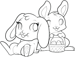 Bunny Coloring Pictures Uticureinfo