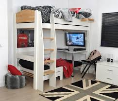 Children's High Sleeper Beds | Room To Grow Inside High Sleeper Bed With  Sofa (Image