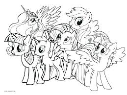 My Pony Coloring Pages Online My Little Pony Color Page Pony