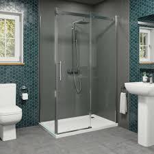 frameless glass shower enclosure example