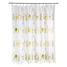shower curtains. Larry And Friends Llama Shower Curtain 1 Thumbnail Shower Curtains N