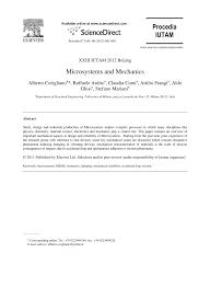Microsystem Design Senturia Pdf Pdf Microsystems And Mechanics