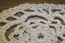 giant crochet rug pattern