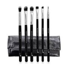 pro ultimate eye 6pcs makeup brushes set with leather cas s