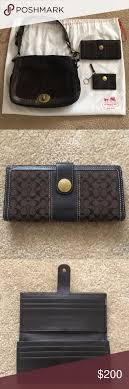 COACH signature bundle Style  Coach Legacy Ali saddle bag. This purse has  been my