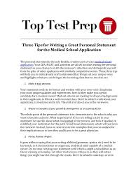 three tips for writing a great personal statement for the medical sch  tips for writing a