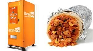 Burrito Making Vending Machine Stunning The Burrito Vending Machine
