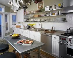 Image Decor 15 Dramatic Kitchen Designs With Stainless Steel Shelves Rilane 15 Dramatic Kitchen Designs With Stainless Steel Shelves Rilane