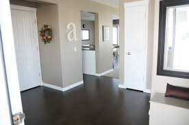 grey walls with dark hardwood floors best paint colors