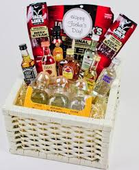 an alcohol gift basket that doesn t look y