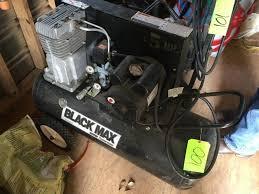 black max air compressor 5hp. lot 100 of 62: coleman black max 5hp air compressor o