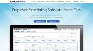 Online Work Schedule Access Schedulebase Com Employee Scheduling Software