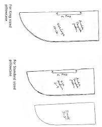Pillowcase Dress Armhole Templates Chart For Sizing When