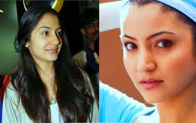 but without it they look very ugly look how celebrity looks without makeup here is now hka a famous indian actress