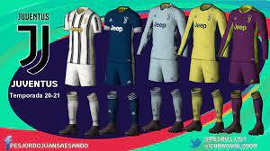 Pes 2021 juventus and napoli kits update. Kits Juventus 2020 2021 By Sando Virtuared Tu Comunidad De Pro Evolution Soccer