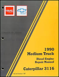 chevy kodiak gmc topkick wiring diagram manual original 1990 gmc chevy topkick kodiak caterpiller 3116 diesel overhaul manual