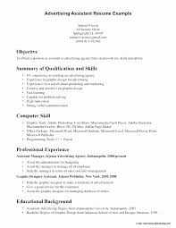 Sample Of Objective In Resume For Internship Fresh Sample Resume