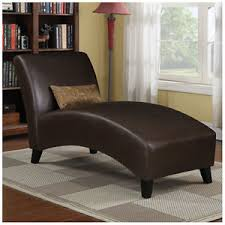 office chaise lounge chair. Image Is Loading Brown-Curved-Chaise-Lounge-Chair-with-Pillow-Home- Office Chaise Lounge Chair