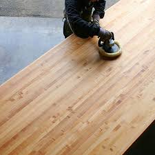 big leaf maple side grain butcher block countertop