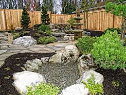 Small Picture Garden Design With Stones erikhanseninfo