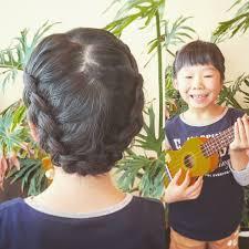 子供ヘアアレンジ Hashtag On Twitter Throughout 女児 髪型 アレンジ