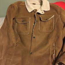 old navy coat old navy mens suede jacket in perfect condition old navy pea coat