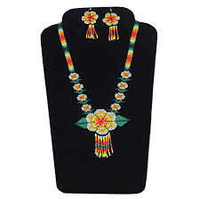 Masai Design Buy Flower Design Jeco Glass Seed Beads African Masai Multi