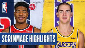 The Game Haus | Wizards vs. Lakers Scrimmage Recap