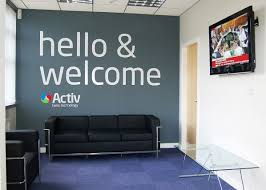 office wall pictures. Creative Office Branding Using Wall Graphics From Vinyl Impression, Stickers Give A Professional Look To An Or Business, With In. Pictures T