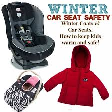 car seat safety with winter coats how to keep kids warm while complying with car seat