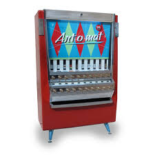 Ban On Cigarette Vending Machines Classy Vending Machines Dispense Art In Small Packages Of Panache KQED Arts