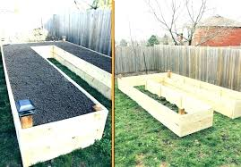 raised garden bed on slope build a raised bed vegetable garden raised bed construction raised garden
