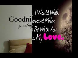 Sweet Love Quotes For Him Adorable Good Night My Love Goodnight My Love Quotes Good Night My Love