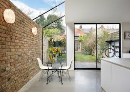 Interior and Exterior:Rise Design Studio Adds Glass Extension To London  House 2 glass extensions