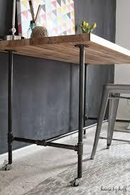best 25 pipe desk ideas on industrial pipe desk diy brilliant diy pipe desk