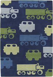 trucks kids rug zoom